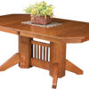 Amish Marbarry Dining Room Table
