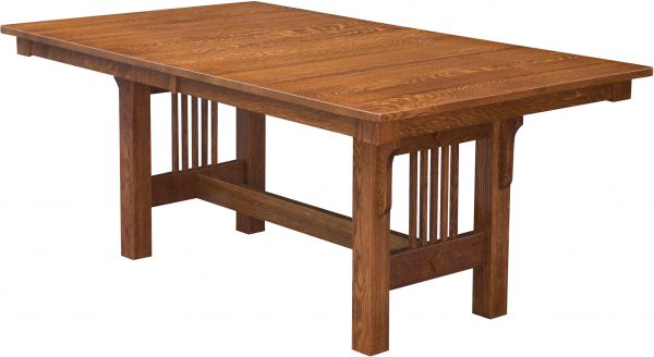Amish Mission Trestle Dining Table