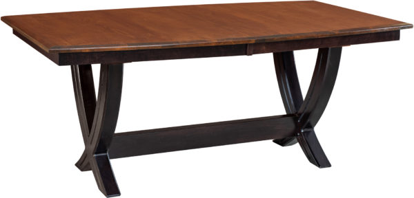 Amish Ventural Trestle Dining Table