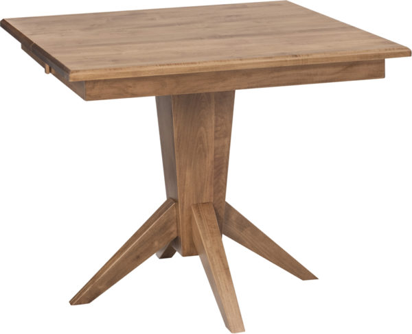 Amish Milan Single Pedestal Table