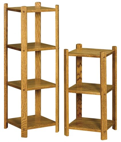 Small Square Wood Stands