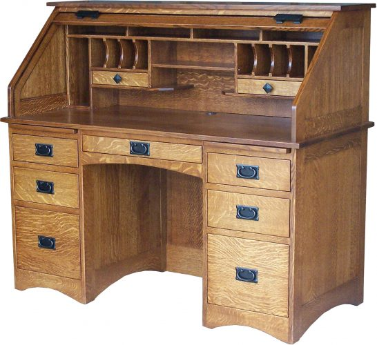 Mission Amish Roll Top Desk
