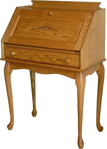 Queen Anne Amish Crafted Secretary Desk