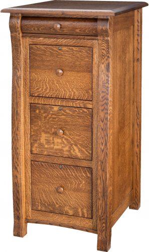 Amish Castlebury File Cabinet