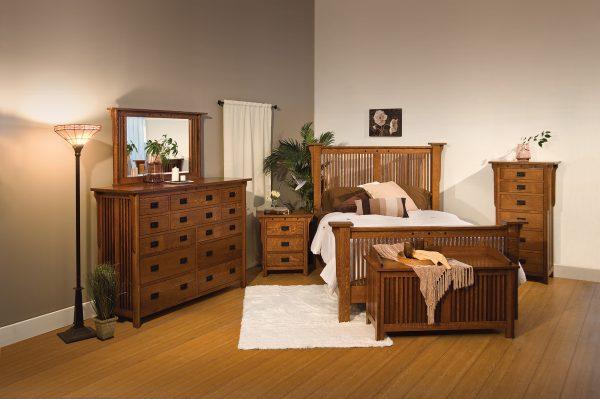 Amish Royal Mission Bedroom Set