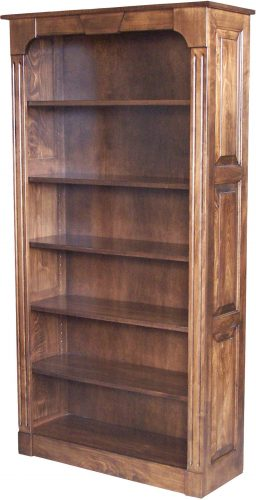 Amish Northport Raised Panel Bookcase