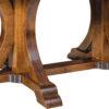Amish Granite Double Pedestal Detail