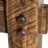 Amish Houston Trestle Table Leg Detail