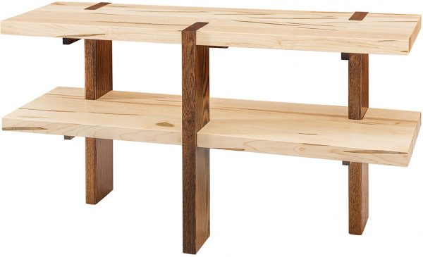 Amish Olympic Two-Tone Sofa Table