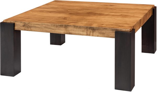 Amish Technik Square Coffee Table