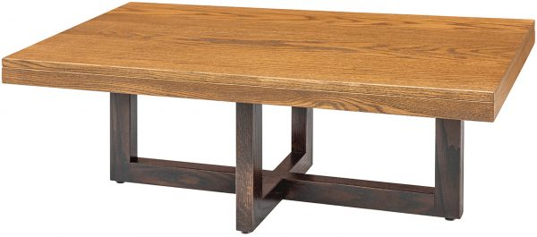 Amish Xcell Two-Tone Coffee Table