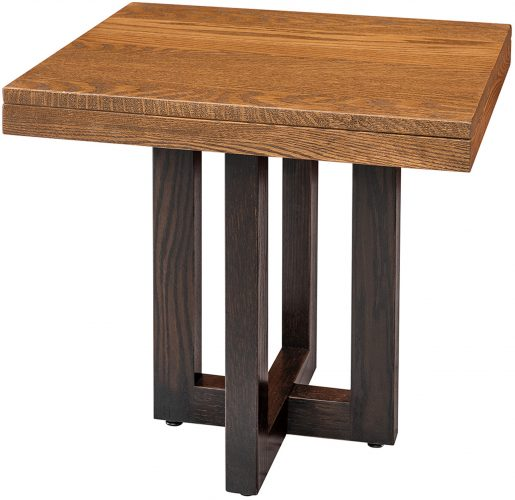 Amish Xcell Two-Tone End Table