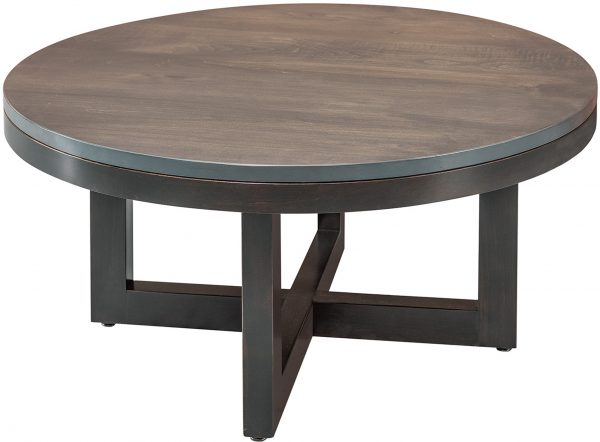 Amish Xcell Round Coffee Table