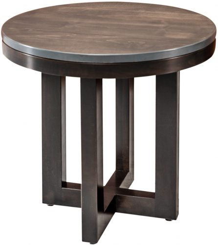 Amish Xcell Round End Table