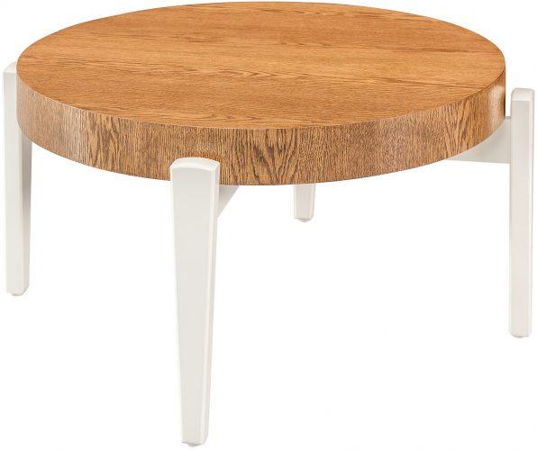 Amish Yuma Round Coffee Table