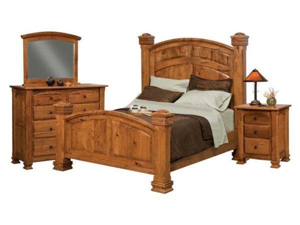 Amish Charleston Collection Bedroom Set