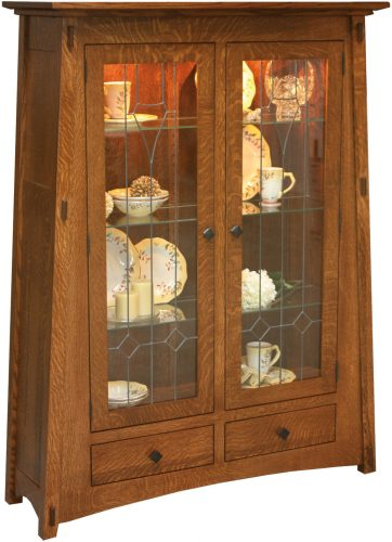 Amish McCoy 2-Door Curio Cabinet