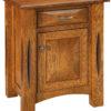 Amish Ravena 1 Door Nightstand