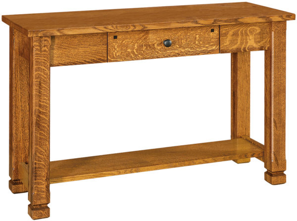 Amish Brockport Hardwood Sofa Table
