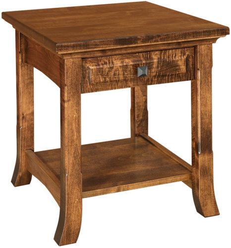 Amish Homestead Wide End Table