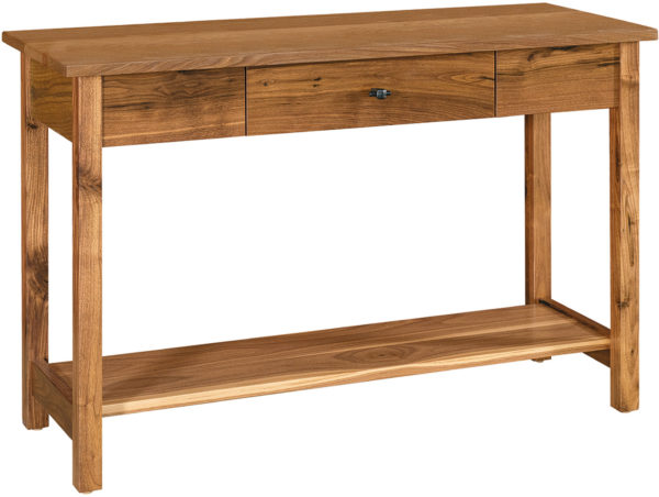 Amish Lakota Open Sofa Table