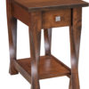 Amish Lexington One Drawer Narrow End Table