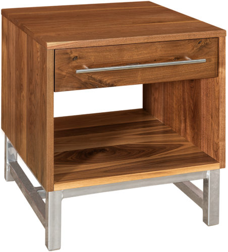 Amish Modella Wide End Table