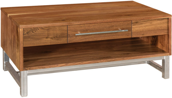 Amish Modella One Drawer Coffee Table