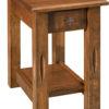 Amish Ravena Narrow Open End Table