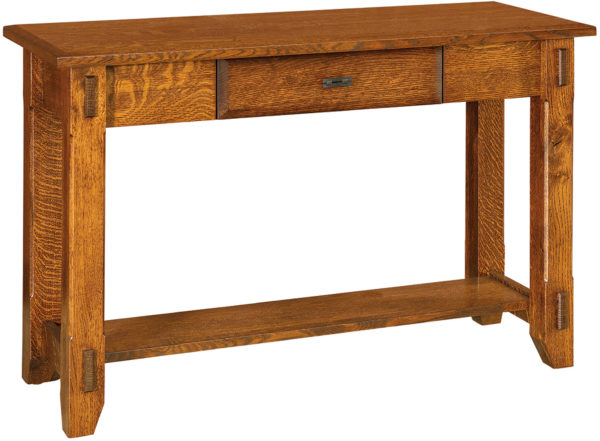 Amish Tacoma Open Sofa Table