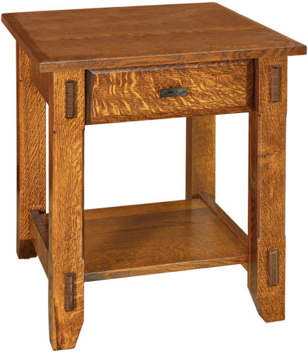 Amish Tacoma Open End Table
