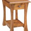 Amish Narrow Vandalia Open End Table