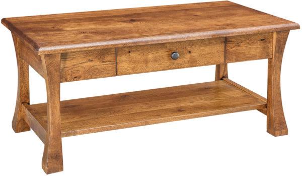 Amish Vandalia Open Coffee Table