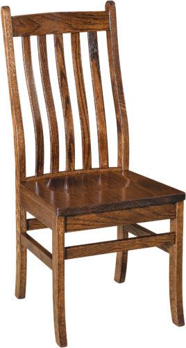 Amish Abe Slat Dining Chair