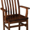 Amish Abe Dining Chair with Arms