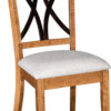 Amish Callahan Dining Side Chair with Two-Toned Finish
