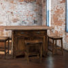 Amish Clifton, Coby, and Kalston Bar Stool Set