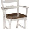 Amish Fargo Arm Dining Chair