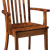 Amish Newport Dining Arm Chair