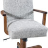 Amish Zeigler Desk Chair with Arms