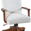 Amish Zephyr Desk Chair with Arms