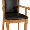 Amish Acadia Dining Arm Chair