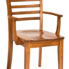 Amish Louisdale Arm Dining Chair