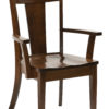 Amish Livingston Dining Arm Chair