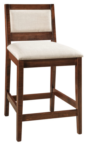 Amish Wescott Stationary Bar Chair