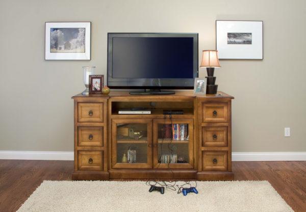 Amish Bridgeport Flat Screen TV Cabinet