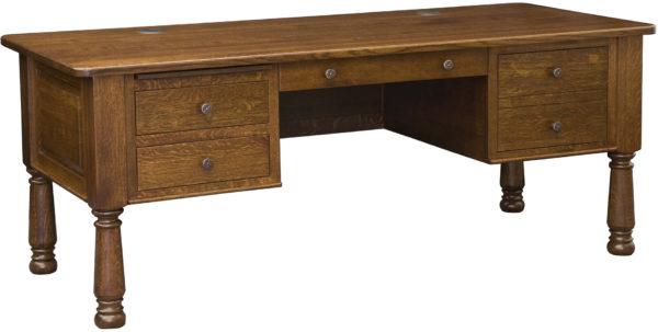 Amish 76 inch Mayors Desk