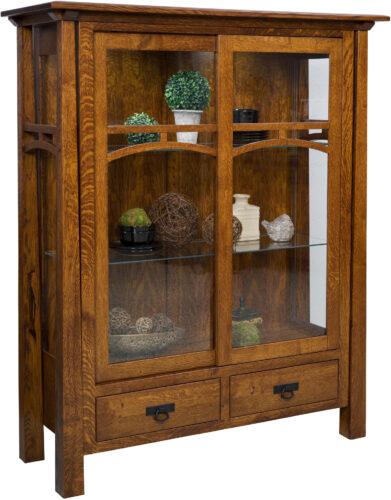 Amish Artesa Curio Cabinet