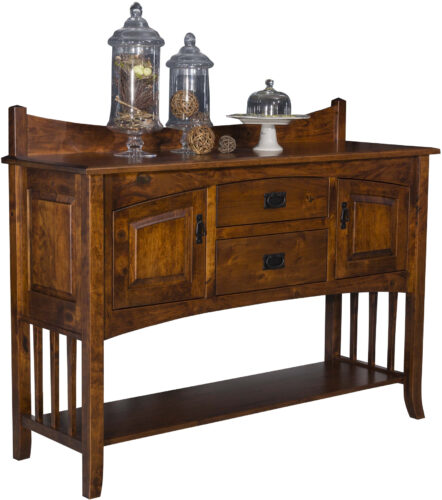 Amish Cambria Open Sideboard