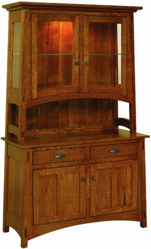 Amish Colbran Two Door Hutch
